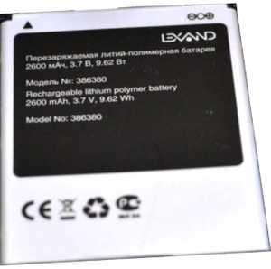 Lexand Antares (S6A1) 2600mAh Li-polymer, оригинал