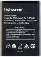 Highscreen (Zera F) 1600mAh Li-ion, оригинал