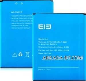 Elephone (A1) 2000mAh Li-polymer, оригинал