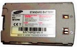 Samsung Х140i (BST4278SE) 820mAh Li-ion, оригинал