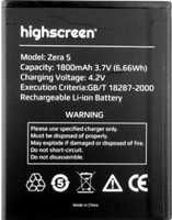 Highscreen (Zera S) 1800mAh Li-ion, оригинал