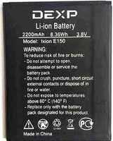 Dexp (Ixion E150) 2200mAh Li-ion, оригинал