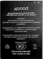 4Good A104 (BLI-2200) 2200mAh Li-ion, оригинал