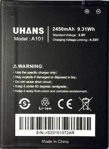 Uhans (A101) 2450mAh Li-ion, оригинал
