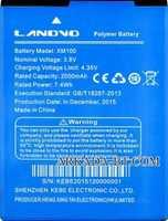 Landvo (XM100) 2000mAh Li-polymer, оригинал