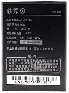 Coolpad (CPLD-94) 1300mAh Li-ion, оригинал