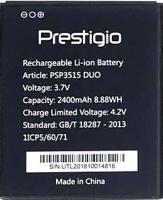 Prestigio 3515 (PSP3515 Duo) 2400mAh Li-ion, оригинал
