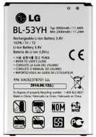 LG D855 (BL-53YH) 3000mAh Li-ion 11.4Wh, оригинал