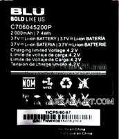 Blu (C706045200P) 2000mAh Li-ion, оригинал