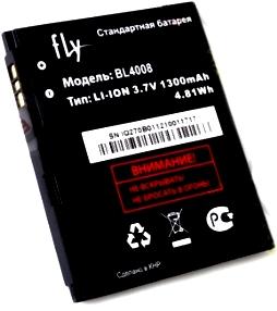 Fly IQ270 (BL4008) 1300mAh Li-ion, оригинал