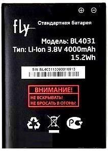 Fly IQ4403 (BL4031) 4000mAh Li-ion, оригинал