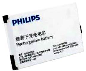 Philips Xenium K700 (A20VDP/3ZP) 1000mAh Li-ion, оригинал