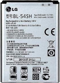 LG D415 (BL-54SH) 2540mAh Li-ion 9.7Wh, оригинал
