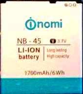 Nomi i450 (NB-45) 1700mAh Li-ion, оригинал