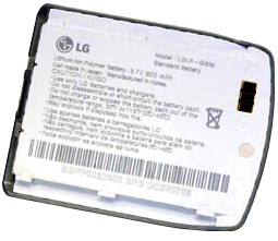 LG KE500 (LGLP-GBIM) 800mAh Li-ion, оригинал