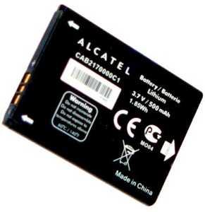 Alcatel OT 105 (CAB2170000C1) 500mAh Li-ion, оригинал