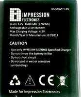Impression (1.45) 1600mAh Li-ion, оригинал