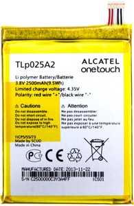 Alcatel OT 8000 (TLp025A2) 2500mAh Li-polymer, оригинал