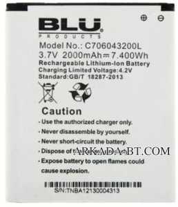 Blu (C706043200L) 2000mAh Li-ion, оригинал