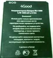 4Good S451M (BLI-1600) 1600mAh Li-ion, оригинал