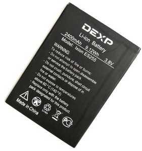 Dexp (Ixion ES255) 2400mAh Li-ion, оригинал