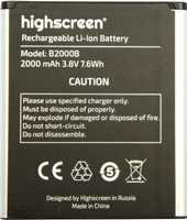 Highscreen (WinWin) 2000mAh Li-ion, оригинал