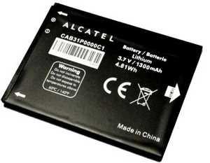 Alcatel OT 918 (CAB31P0000C1) 1300mAh Li-ion, оригинал