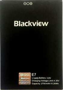 Blackview (E7) 2700mAh Li-polymer, оригинал