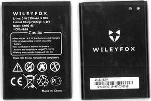 Wileyfox Swift (SWB0115) 2500mAh Li-ion, оригинал