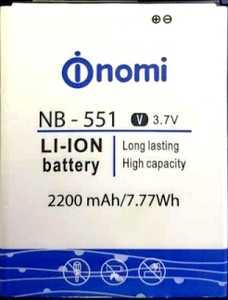 Nomi i551 (NB-551) 2200mAh Li-ion, оригинал