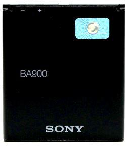Sony-Ericsson BA900 (1256-4166) 1700mAh Li-Polymer 6.3Wh, оригинал