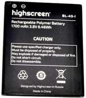 Highscreen (WinJoy) 1700mAh Li-polymer, оригинал