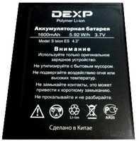 "Dexp (S Ixion ES 4.3"") 1600mAh Li-polymer, оригинал"