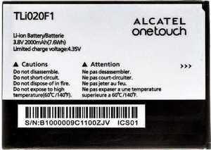 Alcatel OT 7040d (TLi020F1) 2000mAh Li-ion, оригинал