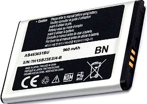 Samsung S3650 (AB463651BU) 960mAh Li-ion 3.55Wh, оригинал