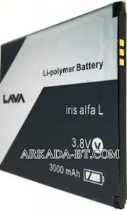 Lava (Iris Alfa L) 3000mAh Li-polymer, оригинал
