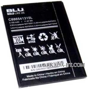 Blu (C886541315L) 3150mAh Li-polymer, оригинал