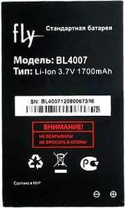 Fly DS123 (BL4007) 1700mAh Li-ion, оригинал