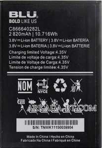 Blu (C866640282L) 2820mAh Li-ion, оригинал