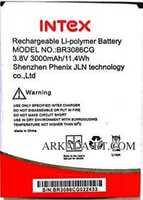 Intex (BR3086CG) 3000mAh Li-polymer, оригинал
