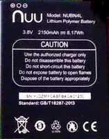 Nuu N4L (NUBN4L) 2150mAh Li-polymer, оригинал
