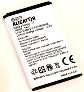 Aligator Senior A400 (V2) 1000mah, оригинал