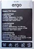 Ergo (F501 Magic) 3000mAh Li-ion, оригинал