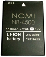 Nomi i4500 Beat M1 (NB-4500) 1700mAh li-ion, оригинал