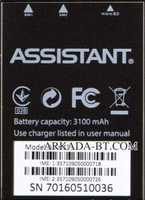 Assistant (AS-6431) 3100mAh Li-ion, оригинал