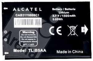 Alcatel OT 995 (TLIB5AA) 1500mAh Li-ion, оригинал