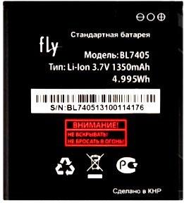 Fly IQ449 (BL7405) 1350mAh Li-ion, оригинал