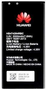 Huawei G620 (HB474284RBC) 2000mAh Li-ion, оригинал