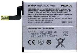 Nokia Lumia 625 (BP-4GWA) 2000mAh Li-Polymer 7.4Wh, оригинал