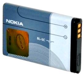 Nokia 6230i (BL-5C) 1020mAh Li-ion 3.8Wh, оригинал